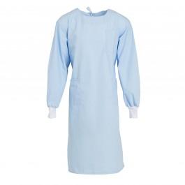 Unisex Sky Blue Lab Gown-L