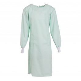 Unisex Sea Foam Lab Gown-M