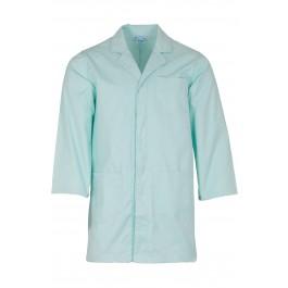 Seafoam Green Lab Coat with press stud cuffs