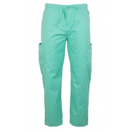 Mint Green Mens and Womens Medical Dental Scrubs Uniform Pants
