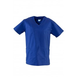 Royal Blue Unisex Medical Dental Scrubs Uniforms