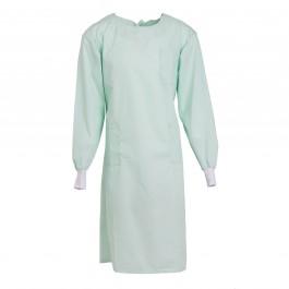 Unisex Sea Foam Lab Gown Medium - PRE-ORDER