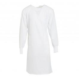 Unisex Lab Gown White 2XS