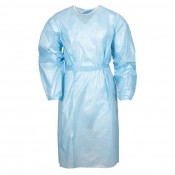 Disposable Lab Gown Water / Splash-Resistant