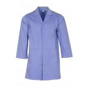 Purple Lab Coat with press stud cuffs