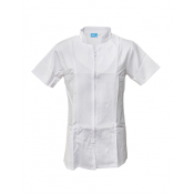 Womens White Dental Coat-XL